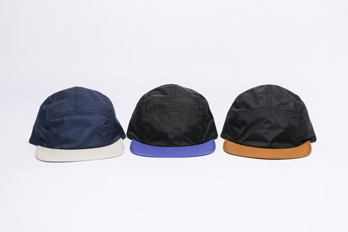 2 TONE NYLON CAMP CAP