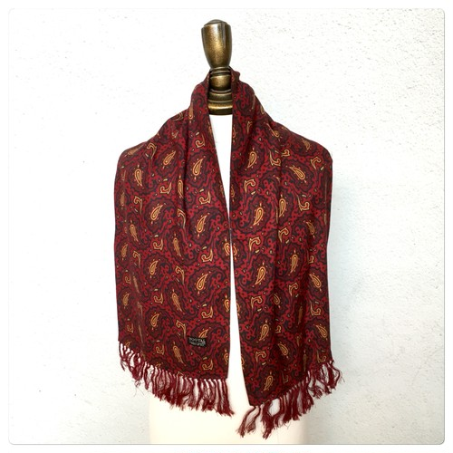 1960s Tootal Scarf Made in England SC_808