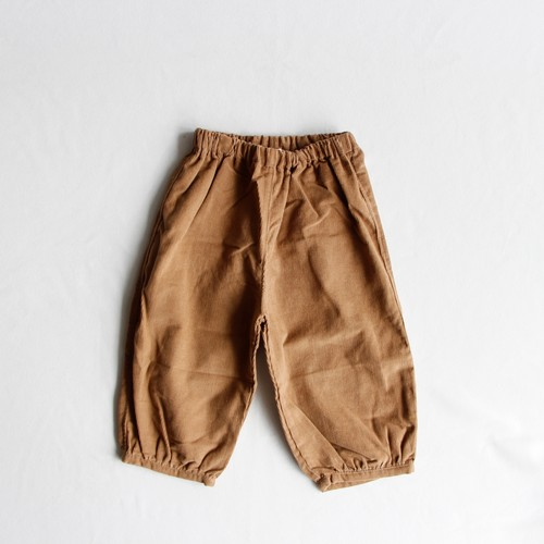 《AS WE GROW 2018AW》Bubble Pants / taupe