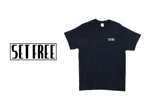 Set Free Box Logo Tee (黒)
