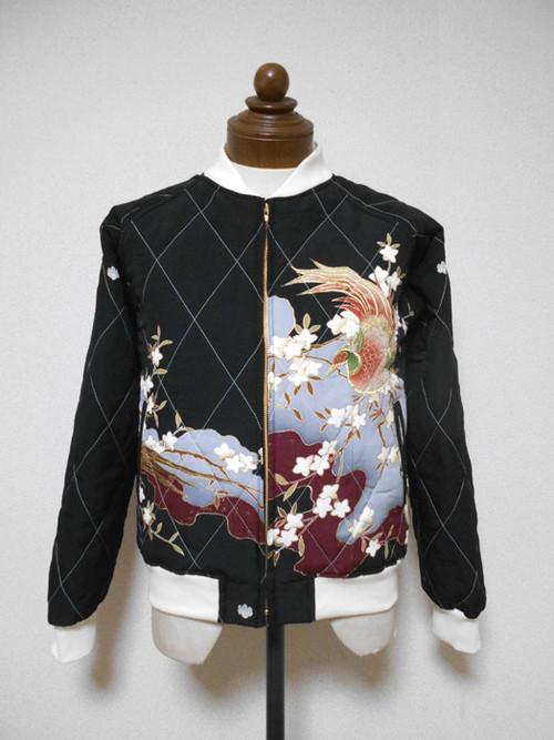 キルティング着物スカジャン  Quilted Kimono Sukajan  SK-201/M