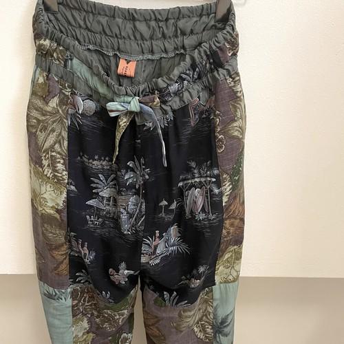 【RehersalL】 aloha easy pants(mint) /【リハーズオール】アロハイージーパンツ(ミント)