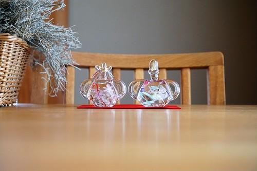 ガラス/雛人形/花びな/空西あかね