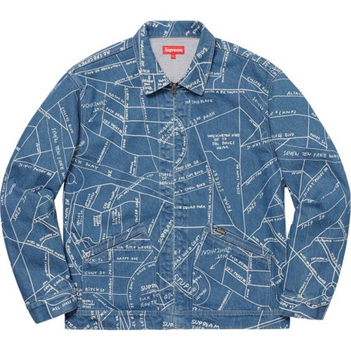 Supreme Gonz Map Work Jacket