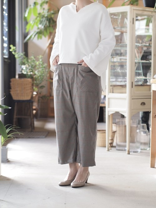 【MANON】EASY TROUSERS