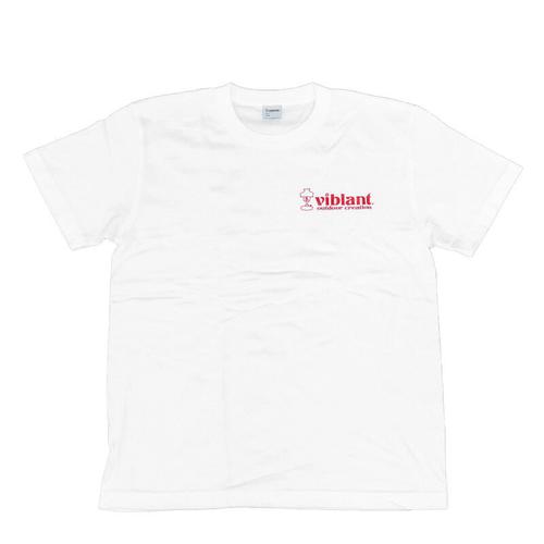 ロゴTシャツ/ホワイト