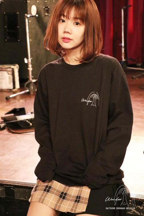「Wander」ロングTシャツ