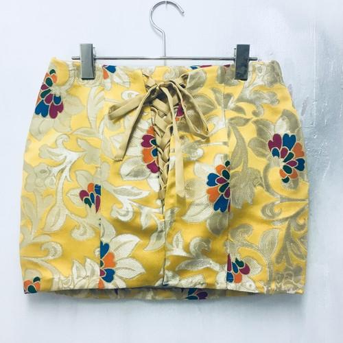 kimono laceup mini skirt