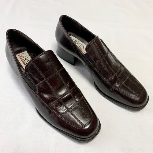 Dark Brown Vintage Heald Loafers Made In Italy (23.5㎝)