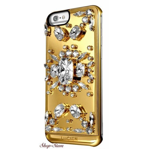 LUCIEN(ルシアン) iPhone6 Plus/6S Plus case Miss Lucien <Aurum×White>
