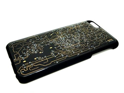 FLASH 関西回路線図 iPhone6/6s  Plusケース  黒【東京回路線図ピンズをプレゼント】