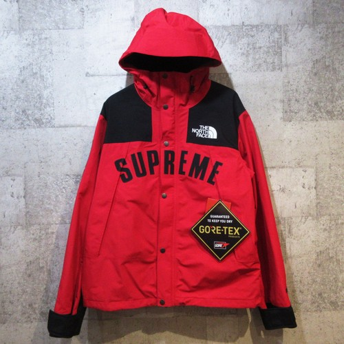 SUPREME × TNF 19SS Arc Logo Mountain Parka