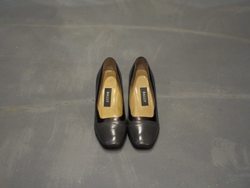 BALLY Bi-Color Heel Pumps / Made in Italy [S445]