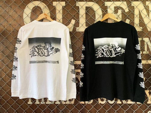 """""""OLDENTIMES""""×""""BOIL""""2ND COLLABORATE L/S TEE"""