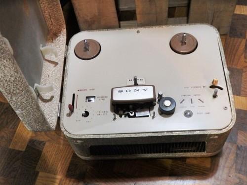 SONY・Tapecorder MODEL 101 ソニー テープレコーダー 101型 希少 オープンリールデッキ