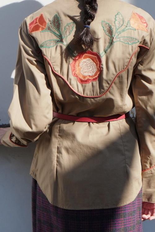 vintage/hana no moto nite shirt.