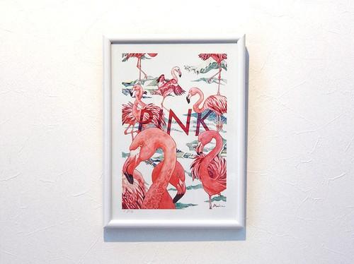 【デジタルプリント】『PINK 』