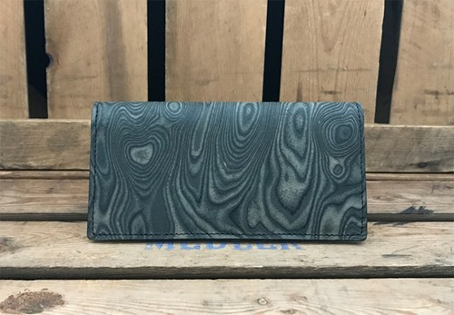 MAGNET Long Wallet Wood Black