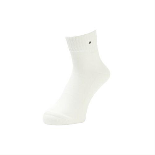 WHIMSY(ウィムジー) / VERSE SOCKS -WHITE-