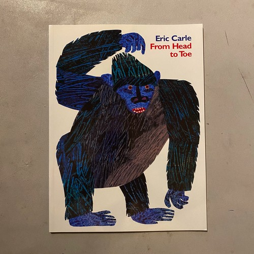 【新刊】From Head to Toe | Eric Carle