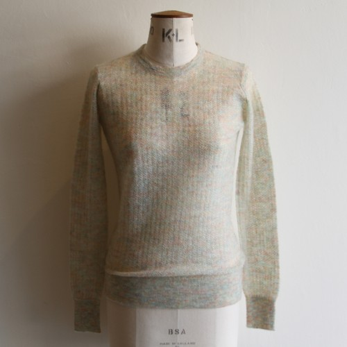 JUN MIKAMI 【 womens 】mohair crew neck