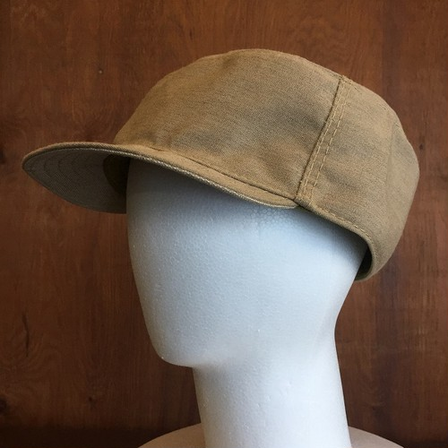 "BUSH headgear "" work cap 2018 "" sand / size 各種"