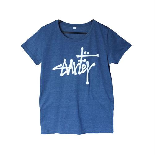 Lady's/IROGLO(イログロ)/Surfer(サーファー)×1696/Tシャツ/ネイビー
