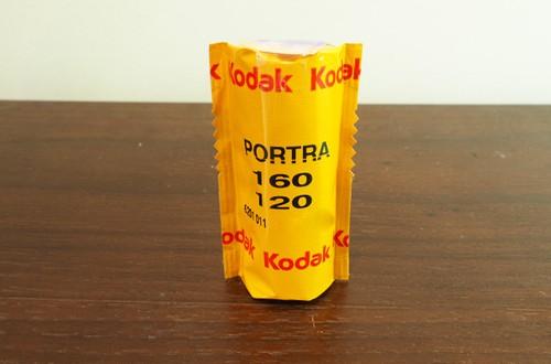 【カラーネガフィルム 120 ブローニー】Kodak(コダック)PORTRA160