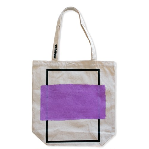 Frame Tote Bag (PURPLE)