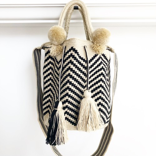 【Pre-order】 ワユーバッグ (Wayuu bag) Basic line 2way Lサイズ