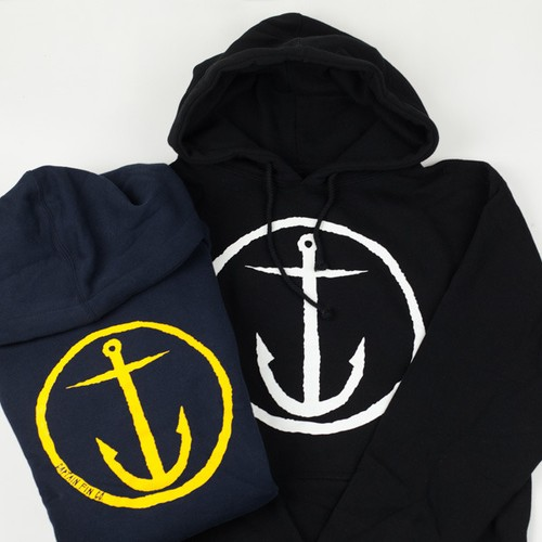 SALE!! 50%OFF  CAPTAIN FIN CO.(キャプテンフィン)ORIGINAL ANCHOR HOODED FLEECE 2色展開