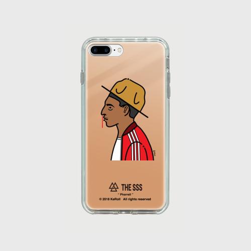 iPhonePlus用 ミラーケース(ピンク ) Pharrell