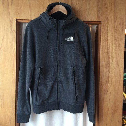US企画 The North Face Box Logo Zip Hooded Sweatshirt