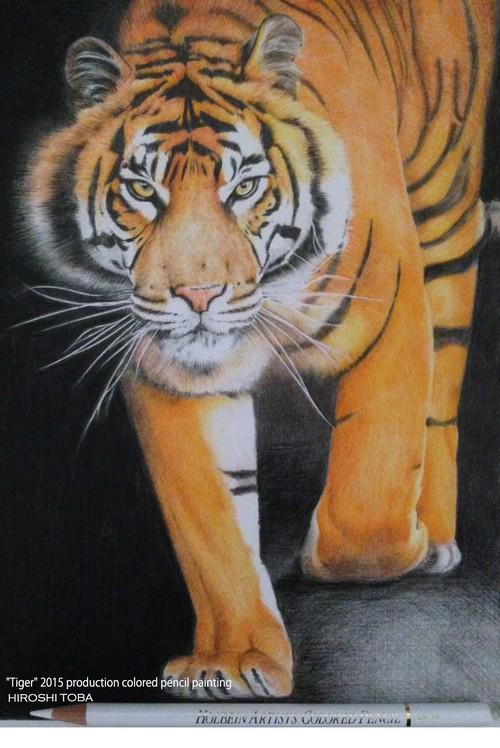 ポストカード -虎-