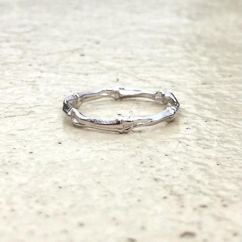 bone ring #01011 silver 骨リング/シルバー