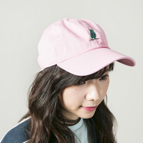 Owl ball cap Pink
