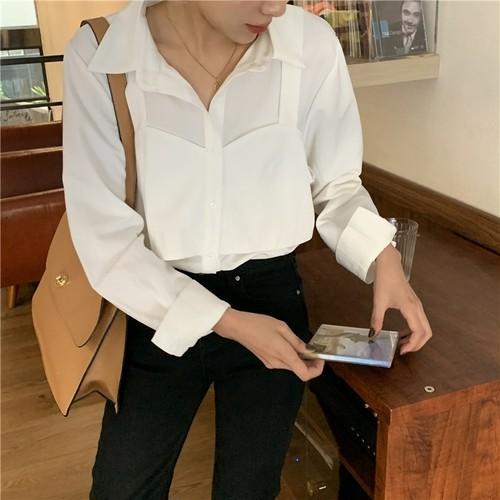 レイヤードデザインシャツ RD7994