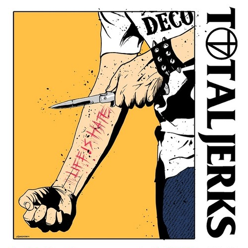 TOTAL JERKS / Life Is Hate (CD/BTR-046)