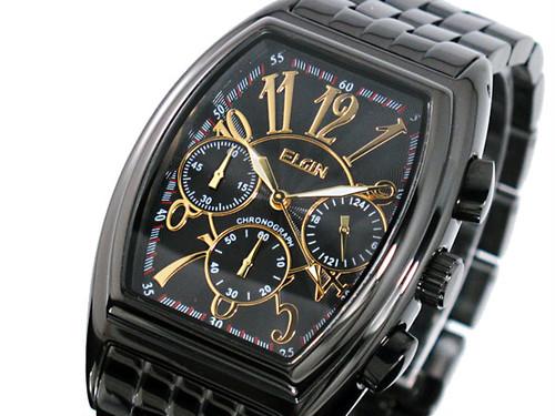 エルジン ELGIN クロノグラフ 腕時計 FK1215B-B