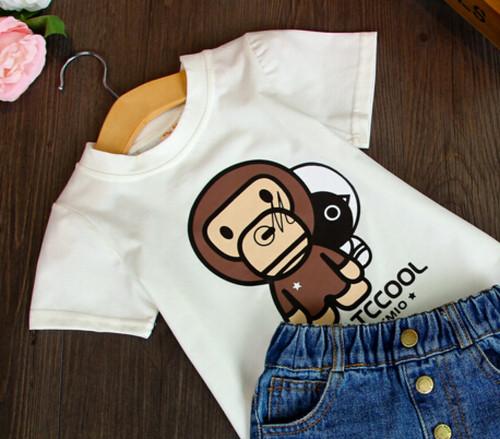 エイプ風Tシャツ