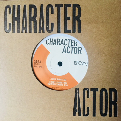 "character actor / s/t 7"" MIXED COLOR vinyl"