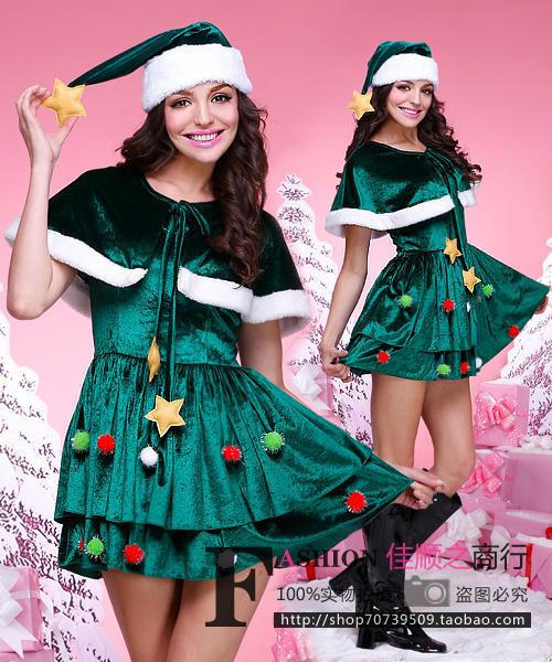 コスプレ クリスマス 衣装 クリスマスツリー