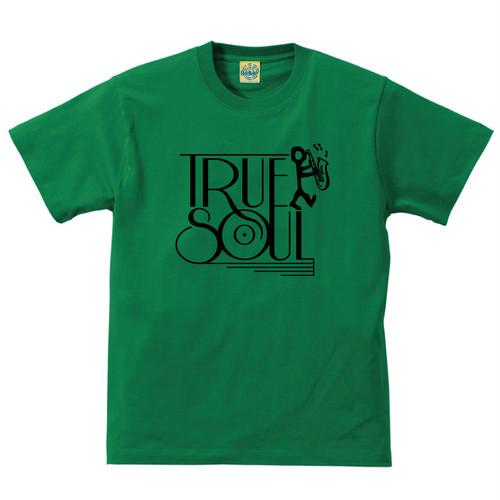 [TRUE SOUL] T-shirt / Green