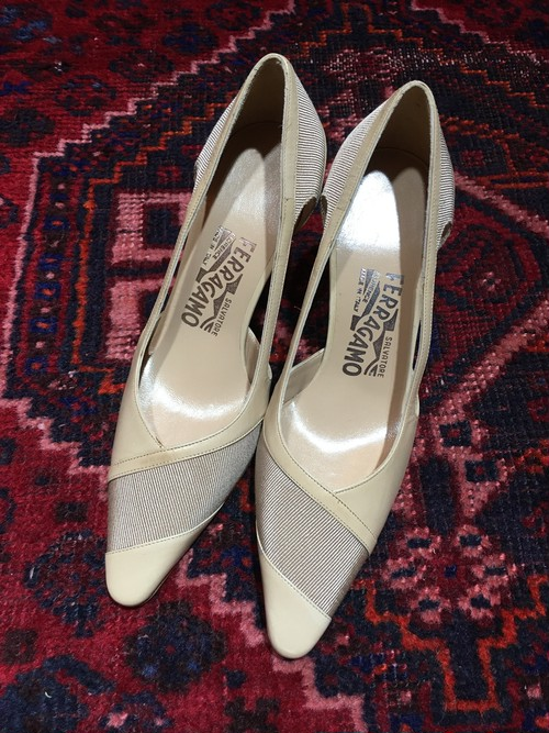 .Salvatore Ferragamo LEATHER PUMPS MADE IN ITALY/サルヴァトーレフェラガモレザーパンプス 2000000036830