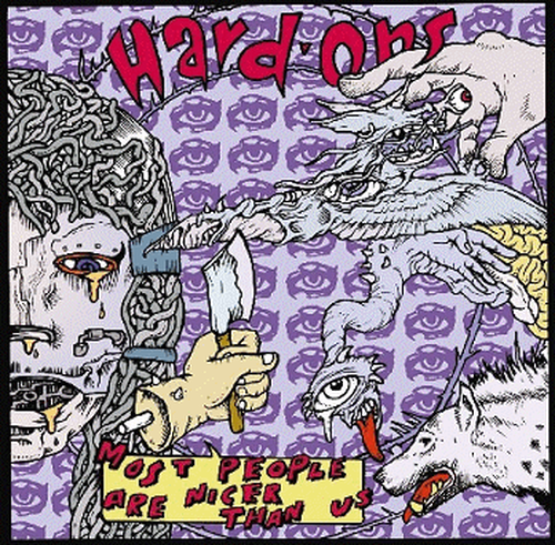 the hard-ons / most people are nicer than us cd