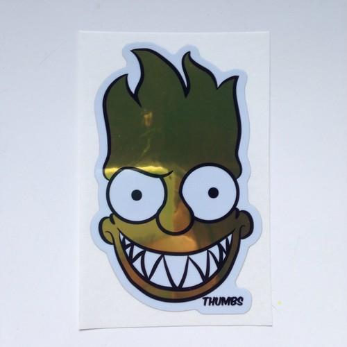 Bart spitfire sticker