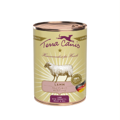 テラカニス【クラシック総合栄養食】ラムとズッキーニ400g