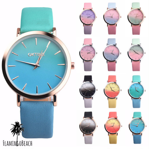 【FlamingoBeach】gradation Watch 時計 22243