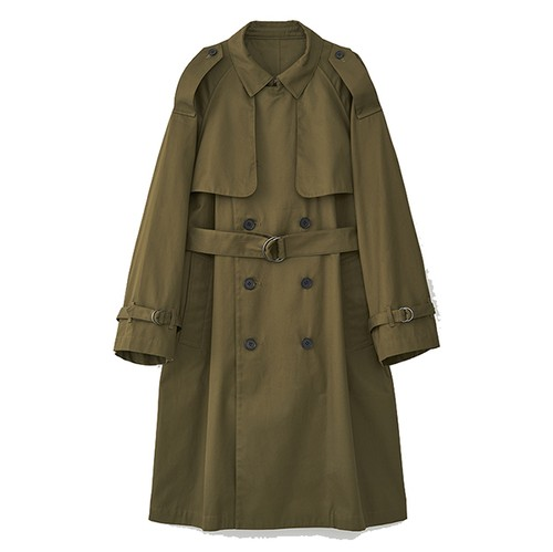 OVERSIZED TRENCH COAT(JUHA)