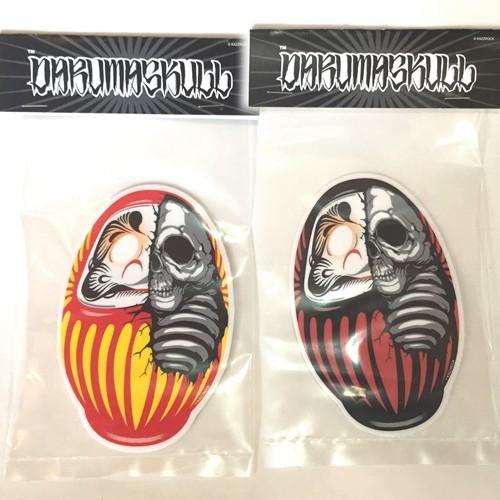 "Kazzrock Original""DARUMASKULL"" Sticker"